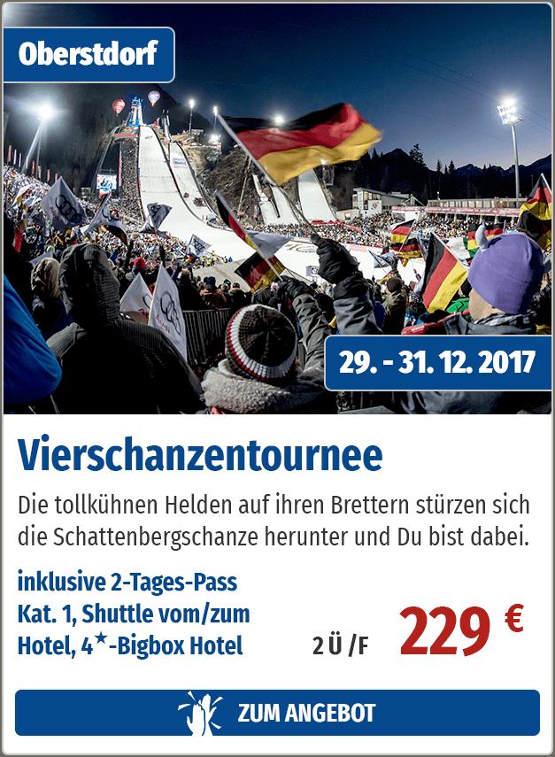 WM-Skisprung-Arena in Oberstdorf