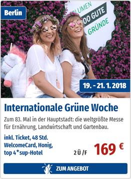 Internationale Grüne Woche - Zum Angebot